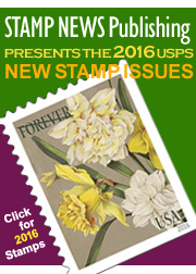 Link to Stamp News Now for the USPS 2016 New Issue Stamps!