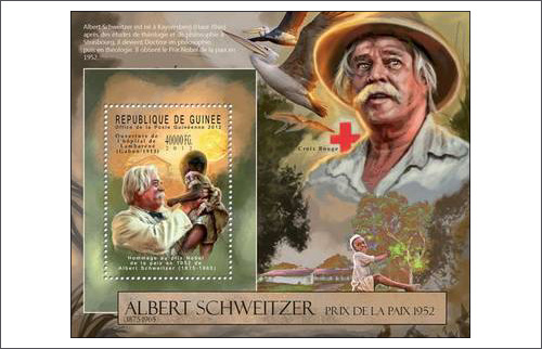 January 14, 1875 - Albert Schweitzer