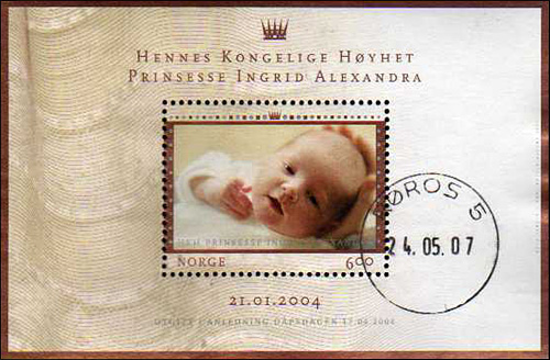 January 21, 2004 - Princess Ingrid Alexandra