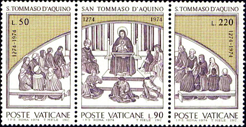 January 28, 1225 - St. Thomas Aquinas